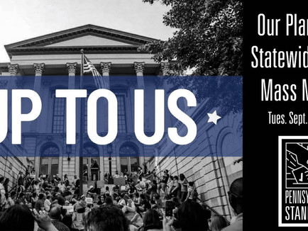 PA Stands Up | 9.1.20 Virtual Mass Meeting
