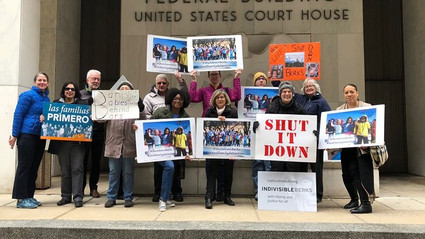 "A Message for Governor Wolf...""Shut Down the Berks Family Detention Center!"""