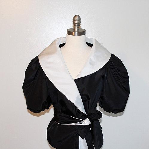 Vintage Black and White Blazer
