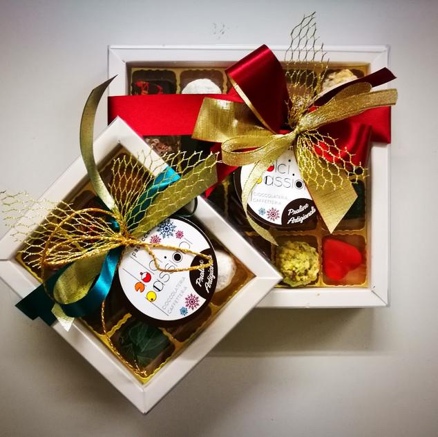 confezione natalizia cioccolatini