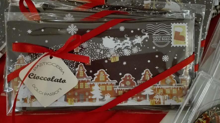 Cartolina di cioccolato