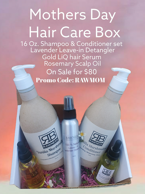 Mothers Day Hair Care Box