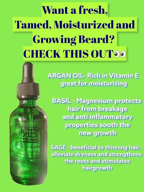 RAW Man beard Oil