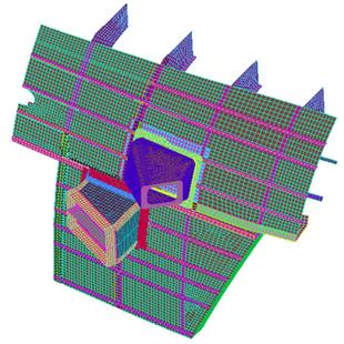 התקנת מערכת הגנה מטילים במסוק MI17