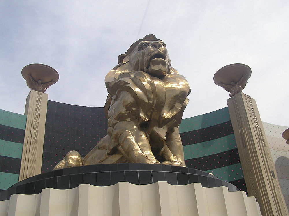 Entrance to the MGM Grande Hotel