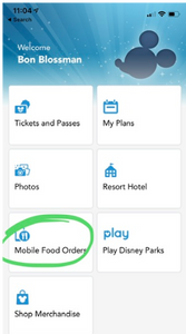 Disney app is available on insta while you're there.