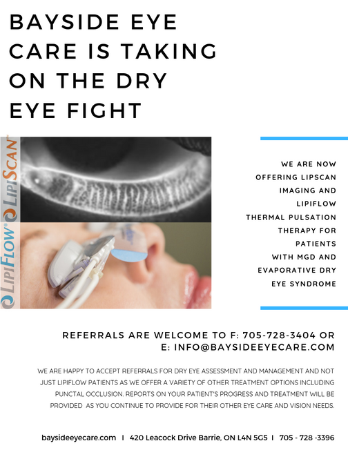 DRY EYES ARE NOT JUST A NUISANCE! Let's start treating it like the chronic and progressive disea