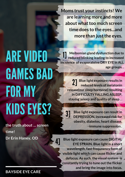 Are Video Games Bad for My Kids Eyes?