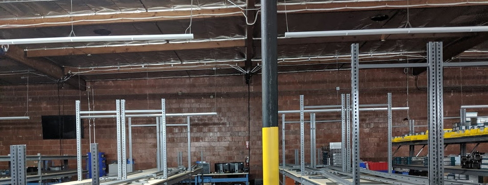 Industrial Shelf Modification