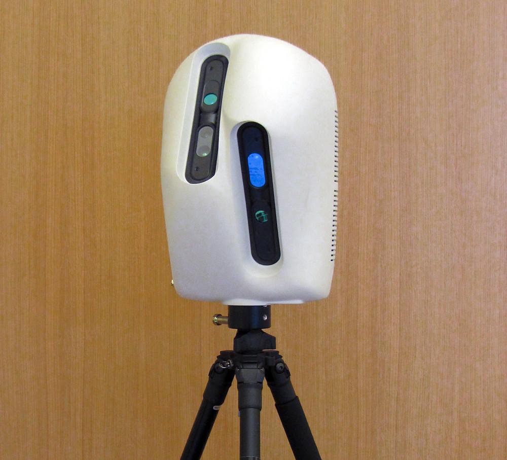 Matterport's first 'egg' bata camera