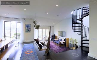 San Francisco Penthouse Photographed by Capture It 3D