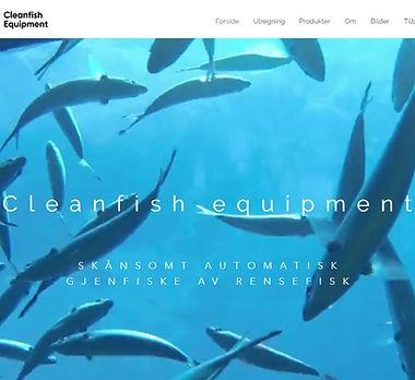 cleanfishequipment.no nettside laget av Respirare.no av Fredrik Nordland.jpg