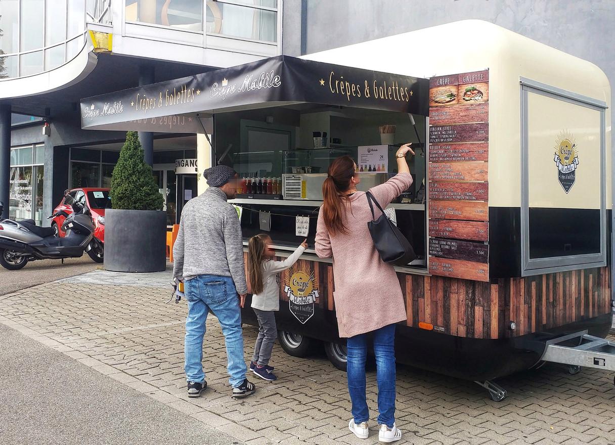 Crêpe Mobile Food Truck bei in puncto Wohnen, Lörrach, 2018