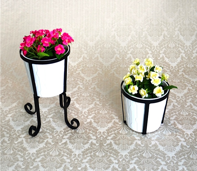 Pot Plant Stand & Wall Bracket
