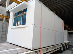 PPVC On Low Bed Ready for Transport