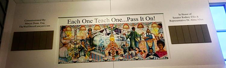 Each One Teach One Mural