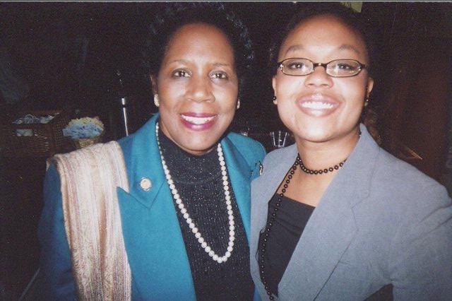 Sheila Jackson Lee and Marye Dean, Esq.