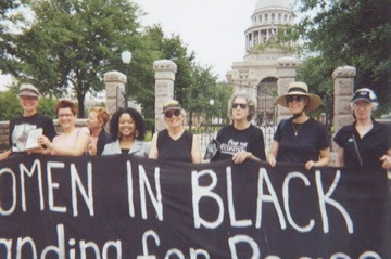 Women in Black Standing for Peace