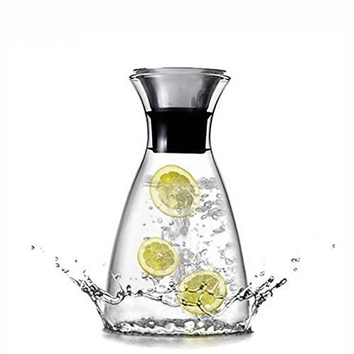Clear Glass Drink Carafe