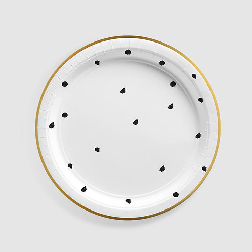 Hello Baby Large Plate