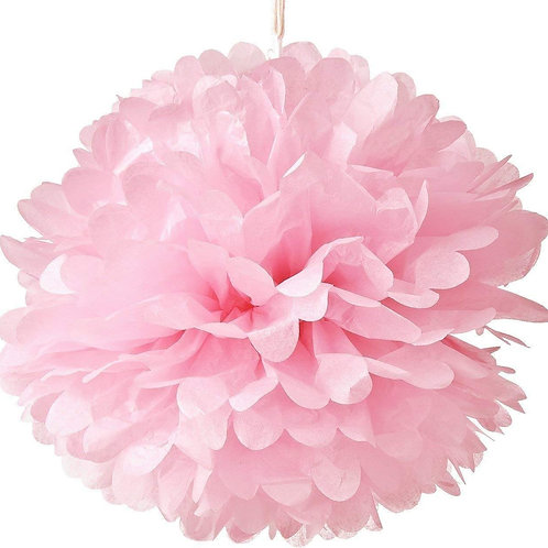 Large Decorative Tissue Pom Poms