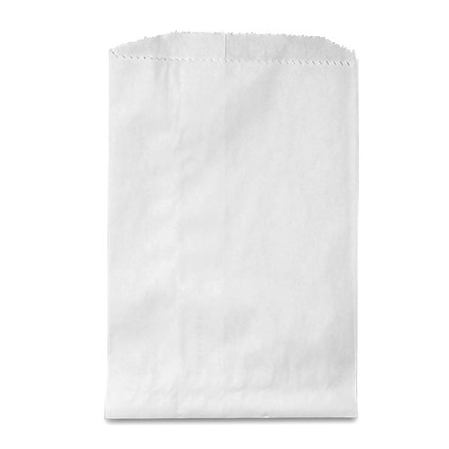 White Paper Snack Bags