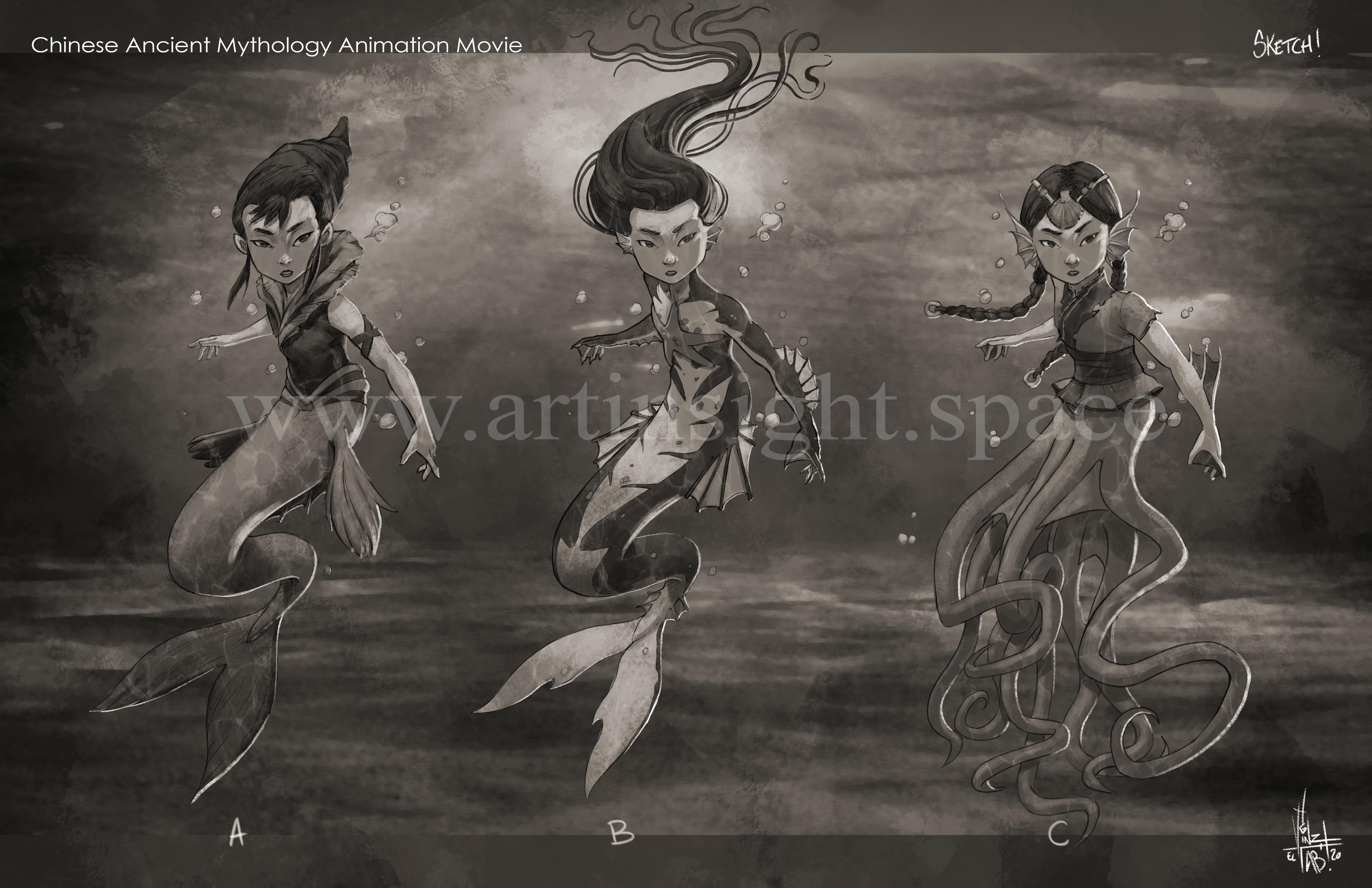 seagirl sketch