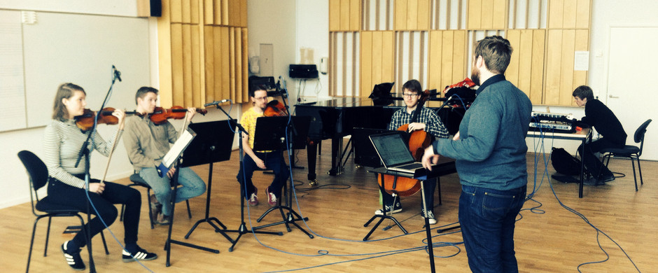 Recording session of BEINTA