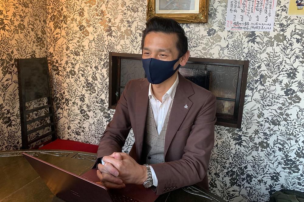 お話を伺った常務取締役の浅野貴之さん