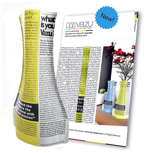 Vazu Magazine Yellow