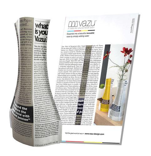 Vazu Magazine Gray