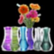 VAZU-Set of 6 vases