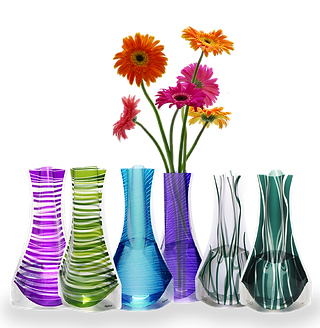 VAZU-Set of 6 vases