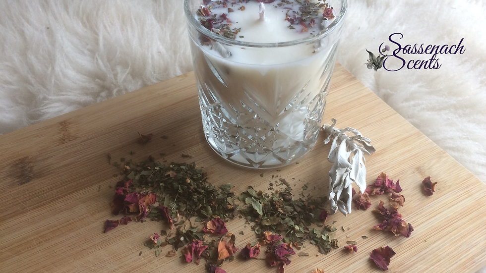 The Highland Hedgewitch Candle