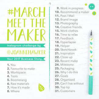 March Meet the Maker 2017