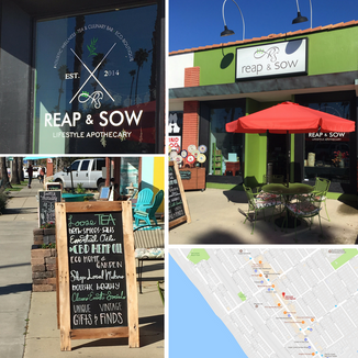 New stockist: REAP & SOW, Eco-Boutique