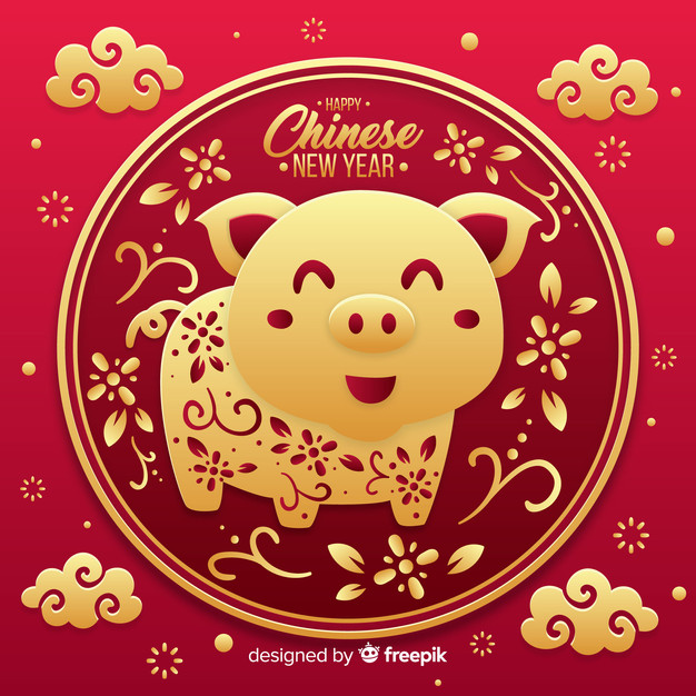 image relating to Printable Chinese Zodiac Placemat identified as Joyful Chinese Contemporary Calendar year