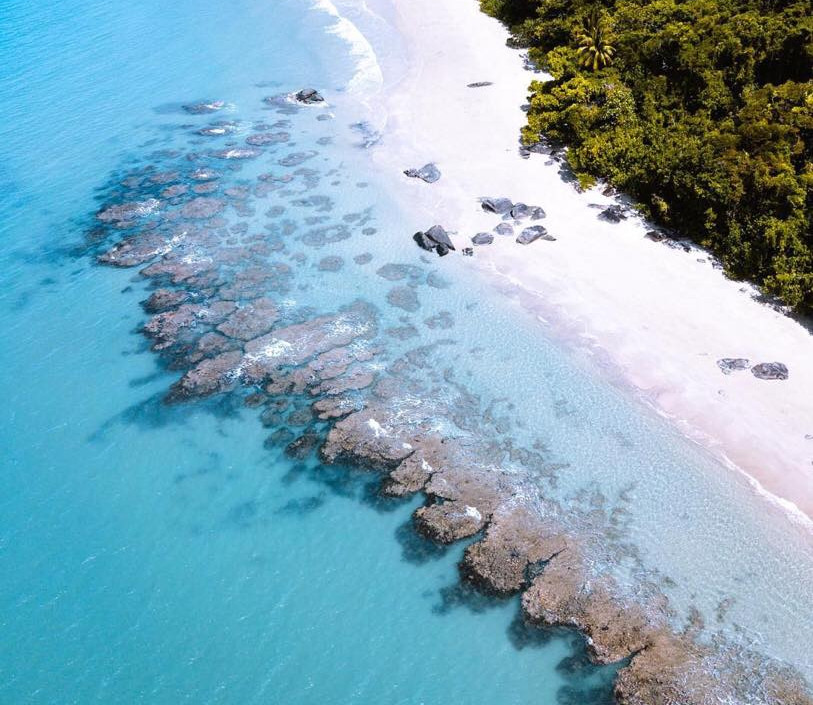 Cape Tribulation from the air