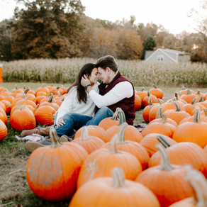 Pumpkin Patch Engagement Session