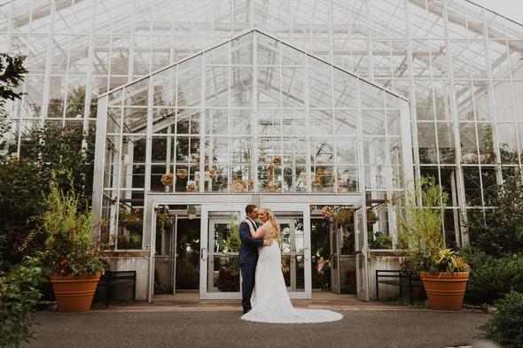 Roger Williams Park Botanical Center wedding