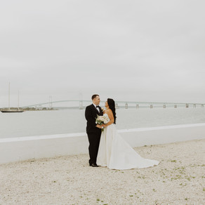 Newport Rhode Island Wedding at Belle Mer