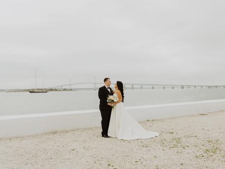 Newport Rhode Island Wedding at Belle Mer