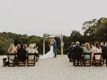 Cape Cod Microwedding at Bourne Farm