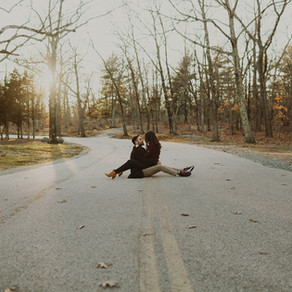 Georgette + Zach - Lincoln Woods State Park