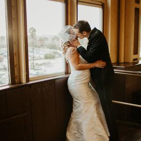 Queen Mary Wedding - Mr & Mrs Gosnet