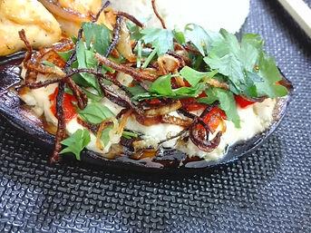 Aubergines tofu La kitchenette de Miss T
