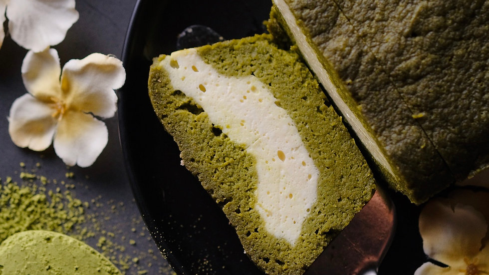 Keto Matcha Loaf Cake