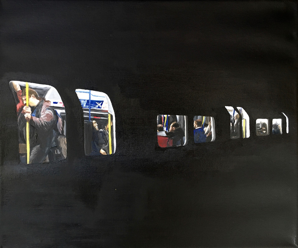 Piccadilly line tube •