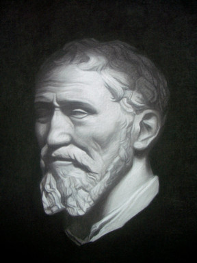 Bust of Michelangelo •