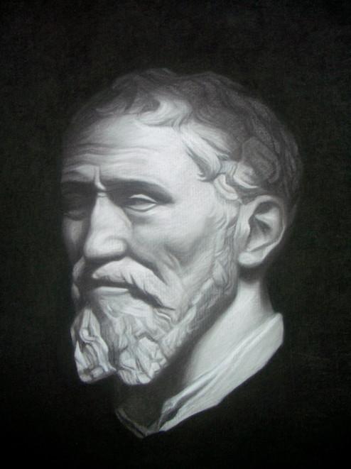 Bust of Michelangelo •